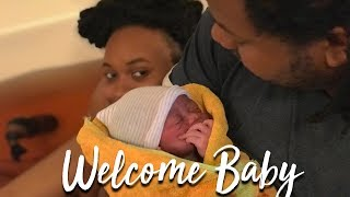 OUR NATURAL HOME BIRTH (VLOG)