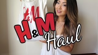 H&M Online + In Store HAUL - Sweaters, Bralettes, Tunics, & Much More! | August 2015