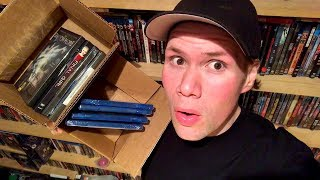 Mystery Horror Blu-rays and Dvds Unboxing - Horror Pack