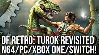 DF Retro: Turok Dinosaur Hunter - How An N64 Classic Evolved The Console FPS