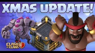 Clash of Clans UPDATE! 2016 XMas Update is ALL HERE!
