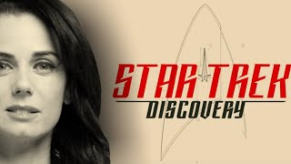 Introducing Mia Kirshner as Amanda Grayson - Star Trek: Discovery