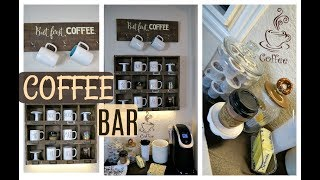 Coffee Bar | Rae Dunn Coffee Station