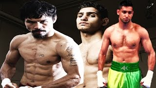AMIR KHAN DOCUMENTS MANNY PACQUIAO SPARRING WARS, REGRETS CHASING MAYWEATHER/PACQUIAO FIGHTS