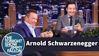 Snapchat Interview with Arnold Schwarzenegger