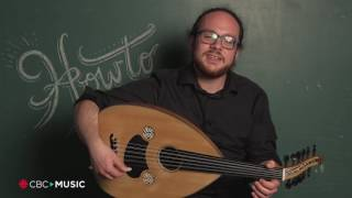 Intro Oud Lesson with Demetrios Petsalakis