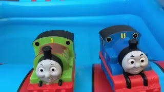 Surprise Toys Thomas and Friends ★ Trains Percy Disney Cars Bath Buddies Water