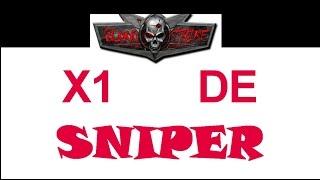 X1 De sniper com Rafael// Blood strike