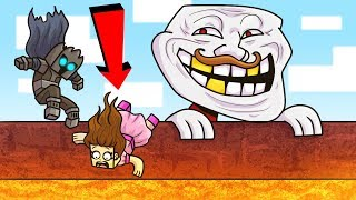 MEGA TROLL TAKES OVER MINECRAFT!