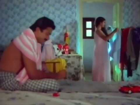 Malayalam Serial Aunty Hot | Transparent Nighty Show