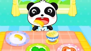 Baby Panda - Healthy Eater | Children Learn About Healthy Food & Good Habits | Babybus Kids Games