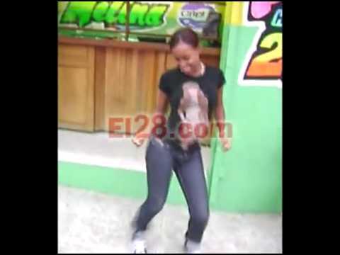Asi se baila el DEMBOW.Una chica de Los Minas Santo Domingo