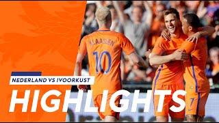 Highlights Nederland - Ivoorkust (4/6/2017)
