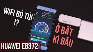 Bộ phát Wi-Fi nhỏ nhất! - Huawei E8372