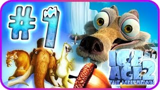 Ice Age 2: The Meltdown Walkthrough Part 1 (PS2, PC, Xbox, Wii, Gamecube) Waterpark
