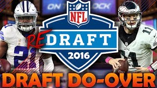 What if the 2016 NFL Draft Had a Do-Over? 2016 NFL Redraft | Madden 18 Connected Franchise