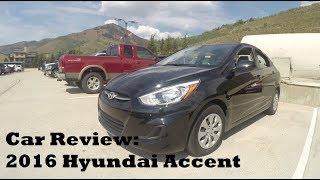 Car Reviews: 2016 Hyundai Accent