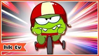 Om Nom Stories: Cycle Race | Cartoons for Children | Funny Cartoons | HooplaKidz TV