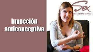 La inyección anticonceptiva