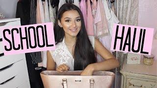 School Supplies Haul 2017 | Haley Marie