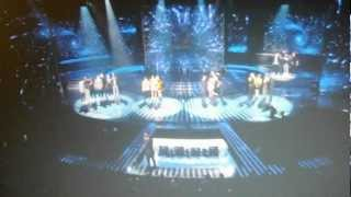UK X Factor 2012 Live Show 1 Results