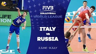 Italy v Russia highlights - FIVB World League