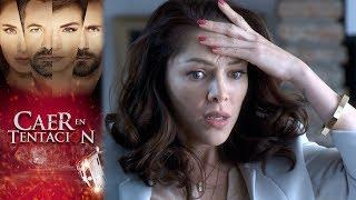 ¡Mía intenta envenenar a Alina! | Caer en tentación - Televisa