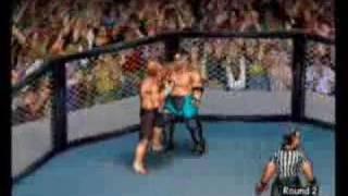 Angle vs. Joe FPR Gruesome cage