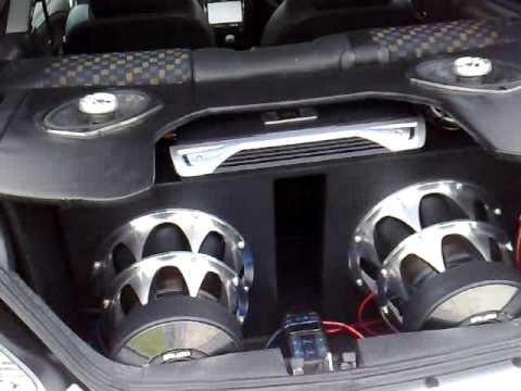 MG ZR sound system US BLASTER and JBL short vid