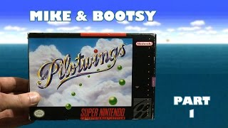 Pilotwings (Super Nintendo) Part 1 - Mike & Bootsy