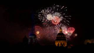راس السنه جمال برج ايفل مع الألعاب الناريه ,, Eiffel tower