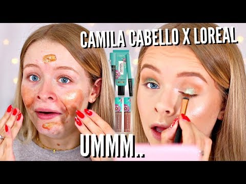 TESTING L OREAL X CAMILA CABELLO HAVANA COLLECTION 😂 WEAR TEST sophdoesnails