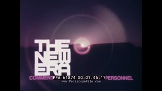 """NEW ERA""  FLIGHT TESTING THE BOEING 747 SUPER JUMBO JET  1970 PROMO FILM  61874"