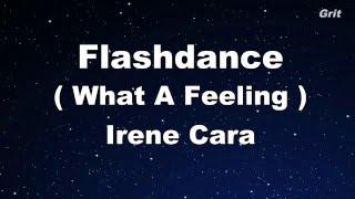 Flashdance What A Feeling - Irene Cara Karaoke【No Guide Melody】