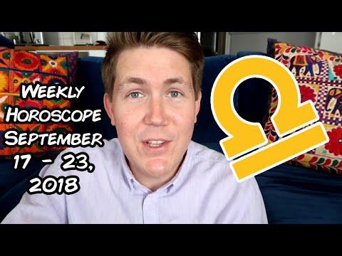 Weekly Horoscope for September 17 - 23, 2018 Gregory Scott Astrology