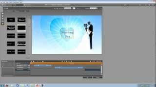 Pinnacle Studio 15 Tutorial- How to Make a Wedding Video Intro (1)
