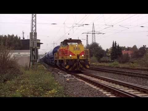 Lime Train ThyssenKrupp at Ratingen-Lintorf Germany 24.9.2014