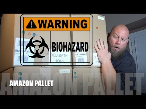 I bought a 1 500 Amazon Customer Returns Pallet Mystery Box BIOHAZARD WASTE FOUND MUST WATCH