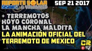 ALEX BACKMAN PRESENTA ANIMACION REAL DEL TERREMOTO DE MEXICO M7.1 (((ALERTA SISMICA GLOBAL)))