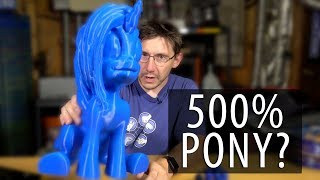 The Largest 3D Printed My Little Pony Unicorn So Far?