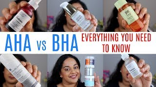 AHA Vs BHA: Everything you need to know about Chemical Exfoliants | Beck Wynta