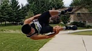 How To Do A Side Flip (Parkour Tutorial)
