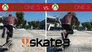 Skate 3 Comparison - Xbox One X vs. Xbox One S