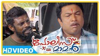 Poilce Maman Malayalam Movie | Scenes | Baburaj inquires Vinayakan about the murder