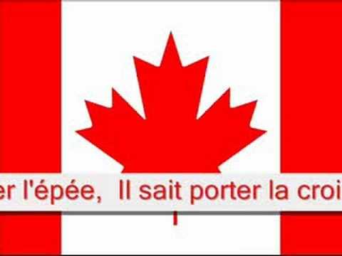 O canada french