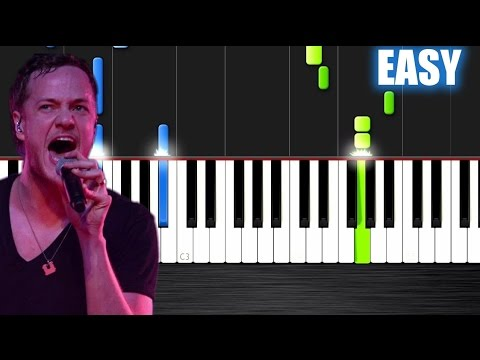 Imagine Dragons - Demons - EASY Piano Tutorial by PlutaX - Synthesia