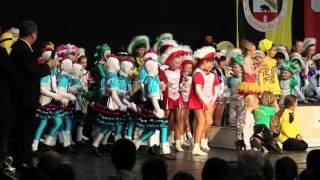 Siegerehrung Jugend & Junioren - Landesmeisterschaft Karneval. Tanzsport 2016