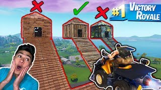 DONT Destroy The Wrong FORTNITE MYSTERY BOX! (Truth or DARE)