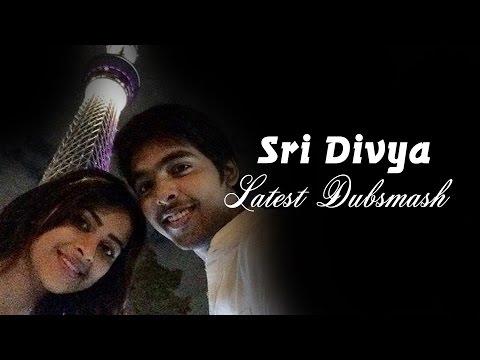 Xxx Mp4 Actress Sri Divya Dubsmash Tamil Actor And Actress Dubsmash Funny Videos Tamil 3gp Sex