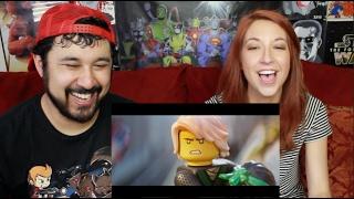 THE LEGO NINJAGO MOVIE TRAILER #1 REACTION & REVIEW!!!